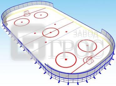 хоккейный корт фото